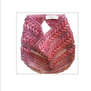 Mignonne Gavigan Judy scarf necklace in rose, NWOT